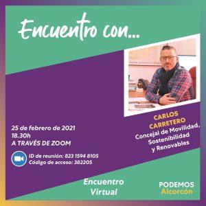 Encuentro con Carlos Carretero